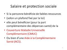 salaire et protection sociale ppt télécharger