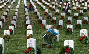 Memorial Day Graveside Decorations by Volunteers Needed For Annual Wreath Laying At Arlington National