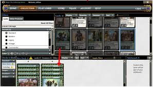 how to build a deck and generate a decklist using magic the