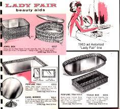 Celluloid Vanity Dresser Set by Cleopatra U0027s Boudoir Vintage Filigree Vanity Sets