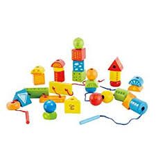 Hape Kitchen Set India by Buy Hape Wooden String Along Shapes Online At Low Prices In India