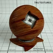 Seamless Knotty Teak Wood Materials Maps