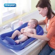 Inflatable Bath For Toddlers by Amazon Com The First Years Sure Comfort Deluxe Newborn To