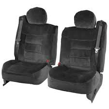 100 Truck Seat Covers BDK 4piece Encore Fabric Front Black Free