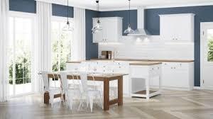 Modern White Kitchen Interior 3d Rendering Stockfoto Und Modern House Interior Interior With White Kitchen 3d