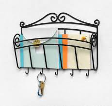Decorative Key Rack For Wall by Amazon Com Spectrum Diversified Scroll Mail And Letter Organizer