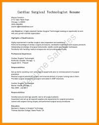 Veterinarian Resume Examples Original Surgical Tech Sample Inspirational Veterinary Samples