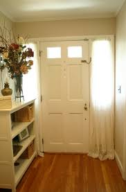 Front Door Side Panel Curtains by Front Door Sidelight Curtains Home Design Ideas