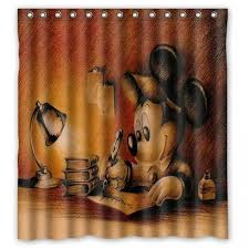 Disney Character Bathroom Sets by Mickey Mouse Shower Curtain Set Walmart 2017new Cute Carton Lion