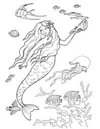 24 Barbie Mermaid Coloring Pages 9532 Via Kidcoloringpagesorg