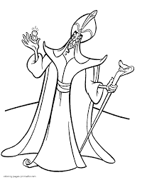 Disney Villains Coloring Pages For Kids