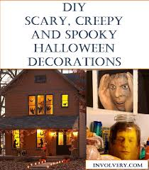 Scary Halloween Props To Make by Diy Scary Halloween Decorations Involvery Community Blog