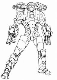 The Most Incredible Gorgeous Ironman Printable Coloring Pages