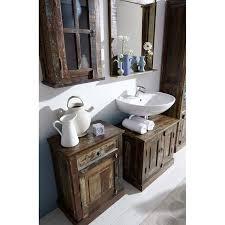 badezimmer spiegel riverboat 14 68x8x79cm bunt altholz mit starken gebrauchsspuren lackiert