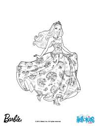 Colouring Pages Barbie The Princess Amp Popstar Coloring Is