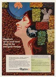 Vintage Ad Archive Halloween Hysteria by 1970 Shag Carpet Advertising That Might Make You Blush Decor Ads