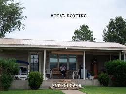 Metal Patio Covers in Cleburne Granbury Burleson & Denton Texas