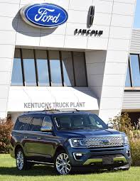 2018 Ford Expedition Starts Production At Kentucky Truck Plant ... Ford Kentucky Truck Plant Lincoln Navigator Expedition Mecf Expert Engineers Electrician Ivan Murl Bridgewater Iii 41 Suspends Super Duty Production At Wdrb Vintage Photos Increases Investment In On High Demand Making Investment To Update Youtube Invest 13b Create 2k Jobs Trails The Nation In Growth Rate Of Jobs Population And Complete Automation Project Ktp Motor1com Tour Video Hatfield Media Louisville Ky Best 2018
