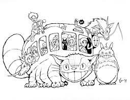 Studio Ghibli Catbus For AICN Contest INKS By FUCHIPATAS