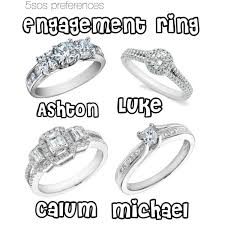 5sos Preferences Engagement Ring
