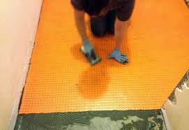 Preparing Concrete Subfloor For Tile by How To Tile Over Concrete Subfloor U2013 The Ugly Duckling House