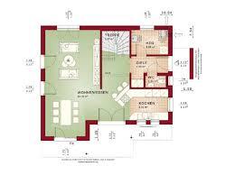 grundriss haus evolution 122 v13 bien zenker erdgeschoss