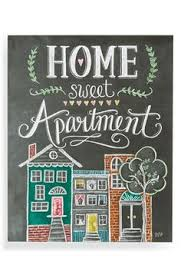 Lily Val Home Sweet Apartment Wall Art Available At Nordstrom