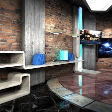 Virtual TV Studio News Set 28 Studio TV Virtual Set