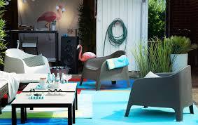 gartenmöbel wohnzimmer im freien kunststoffsessel skarpö