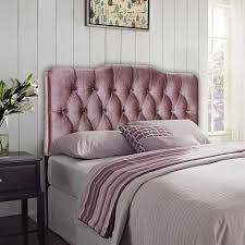 Blue Velvet King Headboard by Bedroom Design Upholstered Crushed Velvet Headboard For Elegant