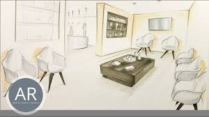teil 1 v 2 perspektivisches zeichnen für interior
