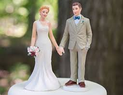 Bride Groom Cake Toppers