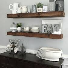 Shanty2chic Dining Room Floating Shelves By Myneutralnest