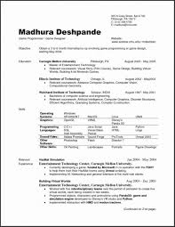 Download Our Sample Of Fantastic Libreoffice Resume Template Sketch