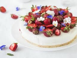 philadelphia torte mit erdbeeren und ohne gelatine