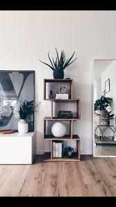 dekoratives holzregal holzregal selber bauen wohnzimmer