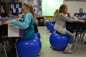 Ball Seats For Classrooms by Ky Teacher Replaces Traditional Chairs Brings Bouncy Seats To