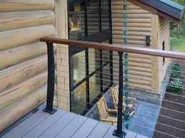 Keuka Style Cable Railing - Huson, MT - Keuka Studios Stainless Steel Cable Railing Systems Types Stairs And Decks With Wire Cable Railings Railing Is A Deco Steel Guardrail Deck Settings And Stalling Post Fascia Mount Terminal For Balconies Decorations Diy Indoor In Mill Valley California Keuka Stair Ideas Best 25 Ideas On Pinterest Stair Alinum Direct Square Stainless Posts Handrail 65 Best Stairways Images Staircase