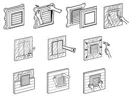 architecture pics for installation gable vents in your home design