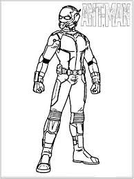 Ant Man Coloring Pages For Boys 9