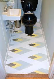painted linoleum bathroom floor hometalk