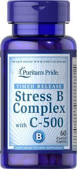 Stress B Complex 60 Caplets   Vitamin B   Puritan's Pride