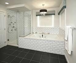 master bathroom shower ideas subway tile designs design basement