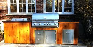 meuble cuisine exterieure bois meuble cuisine exterieure bois ilot bbq en bois cuisine