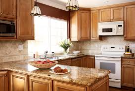 crafty inspiration granite kitchen countertops with maple cabinets