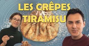 herv cuisine crepes hervé cuisine chez vous des crêpes tiramisu