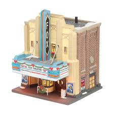 Dept 56 Halloween Village Retired by Department 56 Christmas In The City The Fox Theatre