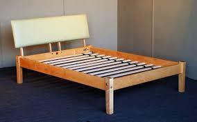 Platform Bed Frame Queen Eva Furniture Within Platform Bed Frame