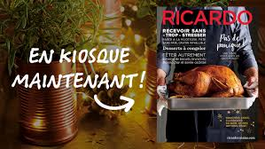 ricardo cuisine noel magazine de noël 2016 ricardo