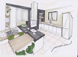 idee plan cuisine idee plan cuisine avec croquis cuisine plan design croquis
